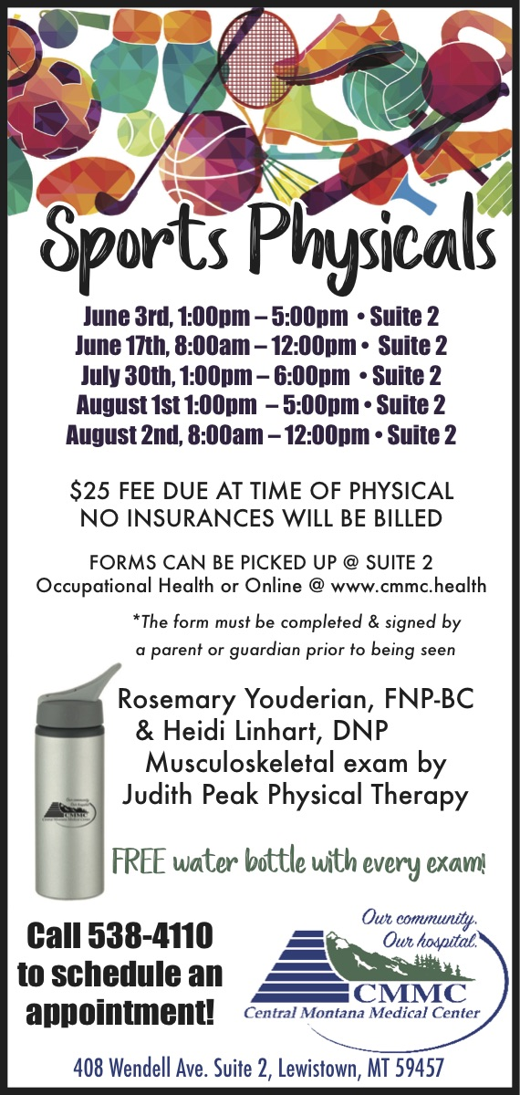 CMMC sports physicals